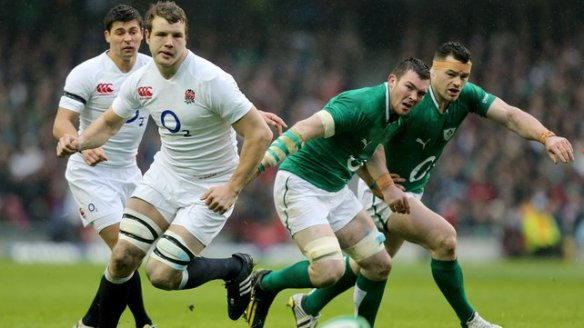 Not an oul fellah in sight: Ben Youngs, Joe Launchbury, Peter O'Mahony and Cian Healy are four youngsters who will have big parts to play over the coming decade in these clashes. The torch has been well and truly passed in England, and Ireland have some catching up to do.
