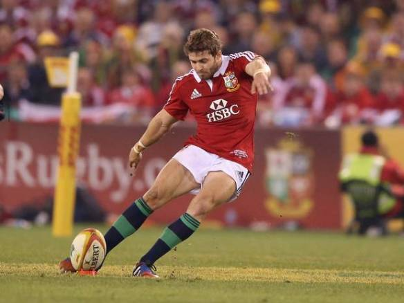 Leigh Halfpenny had a very, very long kick at the end of the game to snatch the match for the Lions. If he'd managed to get it, the Lions would have got away with robbery.