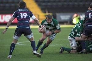 Tom Youngs in Nottingham colours during the 2009-10 season.
