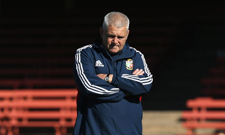 Gatland has difficult choices ahead of him in terms of filling the backrow positions for the first test ... but he'll probably have even more sleepless nights over the same issue before the second test
