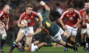 Luke Fitzgerald tearing it up against the Emerging Springboks midweek in 2009. This was the performance that saw him elevated to the starting XV for the second test against the Boks, one of the best games of the decade.
