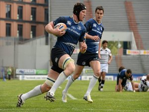 With Quinn Roux having taken a late knock in training and Leo Cullen yet to get going, Tom Denton gets an early opportunity to put down a marker in Leinster's first game of the season.