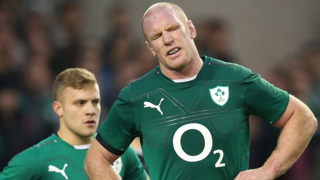 Paul O'Connell's expression says it all. Ireland were seconds away from a first win over New Zealand in history, but it was snatched out of their hands.