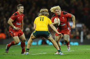 Fat Bodhi charges into contact against Australia, blond hair a-streamin'. Is he 'all-action' as frequently described? He's certainly 'all-impact', but he's doesn't run on Duracell.