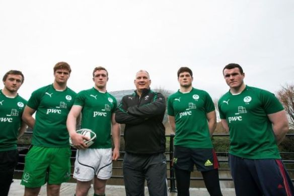 The Class of 2014. David Busby's injury created an opening for Frankie Taggart