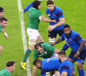Three words: big f*cking deal. O'Brien hits Papé with his wrist in the ned kelly and everyone wrings their hands. I want to see less people being dragged and held off the ball ... if that means more punches, all the better! It's like a good economy: you tax things to disincentivise them. Big cars that are harmful to air quality, smokes that cause cancer etc. Ask rugby fans whether they want to see more players held off the ball or more punches.