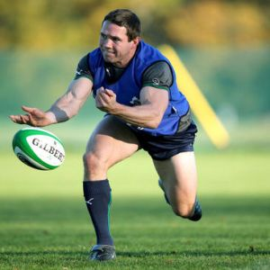 Boss has played well over 300 games of professional and representative rugby, including 22 test caps for Ireland and 16 for the Wolfhounds/Ireland 'A'. At 35 years old, he's very much in the winter of his career, but the Tokorua-born scrum-half keeps himself in phenomenal shape and, as importantly in a long career, keeps a smile on his face. He's an example of how far a great attitude can bring you and an example to all young players in terms of his application and temperament – as is his sometime provincial rival, Peter Stringer.