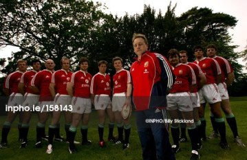Eddie O'Sullivan and the 2005 Irish Lions_Billy Stickland