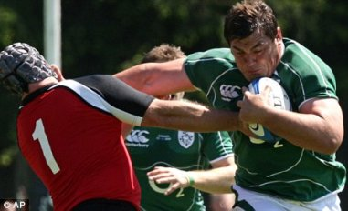 Tony Buckley_Ireland vs Canada