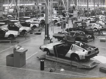 DeLorean Belfast Factory Floor